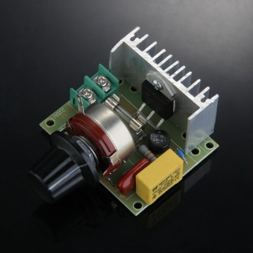 High Quality 3000W Voltage Regulator Dimmer Speed Thermostat Volt Regulator High Power