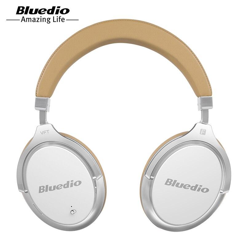Bluedio F2 Active Noise Cancelling Cuffie Bluetooth Senza Fili Auricolare senza fili con microfono per telefoni