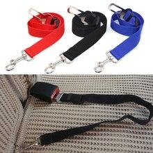 Pet Dogs Safety Vehicle Car Seat Belt Mascotas Dog Seatbelt Harness Lead Clip Levert Adjustable Nylon Pets Puppy Leash