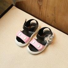 Été Enfants Princesse Sandales Enfants Filles Chaussures Talons hauts Robe Chaussures De Mariage Parti Chaussures Pour Filles En Cuir Belle Main