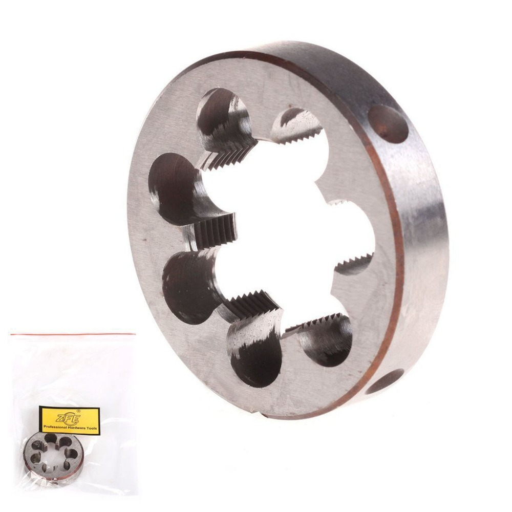 ФОТО ZFE M37 M38 M39 M40 M42 M45 Pitch HSS High Speed Steel Metric Right Hand Die Machine Thread Die--Select Size You Want