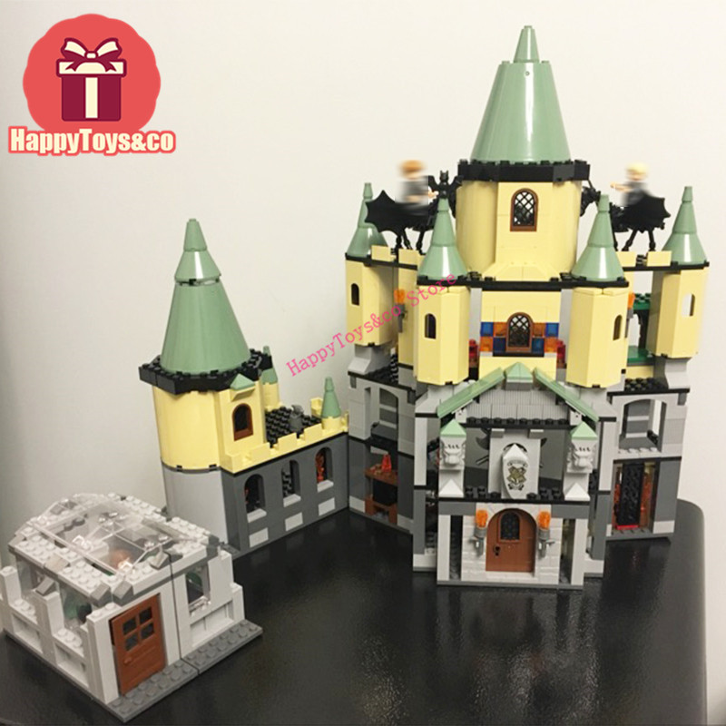 Lepin Movie series 4842 1033Pcs Magic Hogwort Castle toys For Children Gift 16029 Building Blocks Set Compatible Education Magic