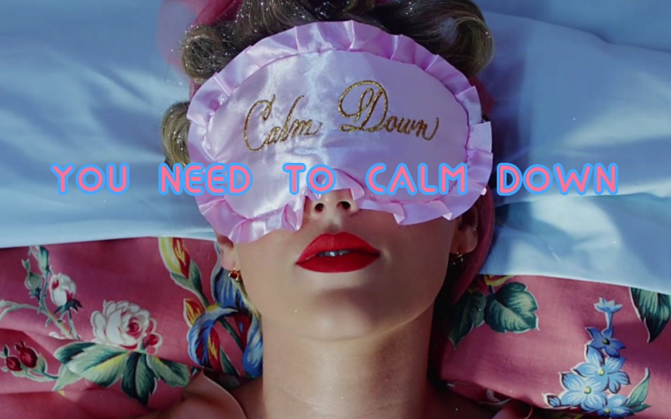 [TAYLOR SWIFT]蝶姐7专新作You need to calm down/蓝光1080p