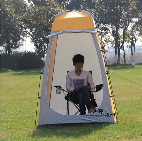 2016 on sale ultralight single person toilet bath shower watching bird chaing room shooting hiking fishing outdoor camping tent