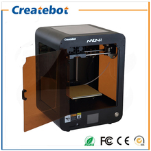 3D Printer Kits Createbot Mini Dual MK8 Extruder 3D Printer 150*150*220mm 3d printing size with 1 Rolls Filament 8GB SD card