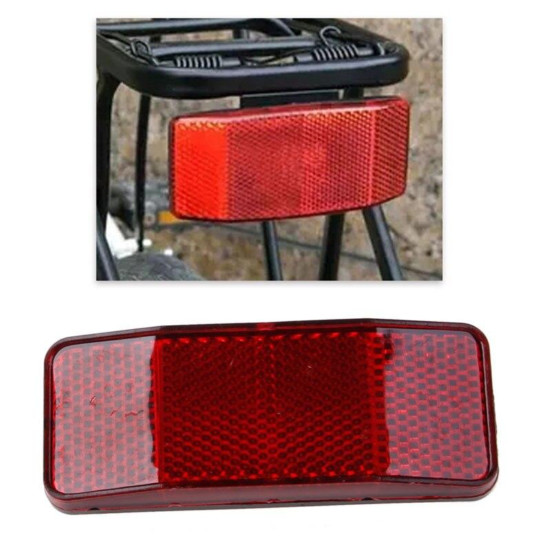 QILEJVS Bicycle Bike Cycle MTB Road Safety Warning Reflector Light Reflective Red Strips  Reflection sheet