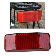 QILEJVS Bicycle Bike Cycle MTB Road Safety Warning Reflector Light Reflective Red Strips  Reflection sheet