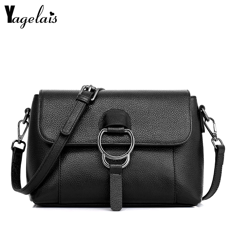 Brand Designer Genuine Leather Ladies Handbag Vintage Cow Women's Crossbody Bags Female Clutch Women Shoulder Bag Fashion Flap nucelle brand new design vintage envelope lock cow leather women ladies handbag shoulder crossbody bag