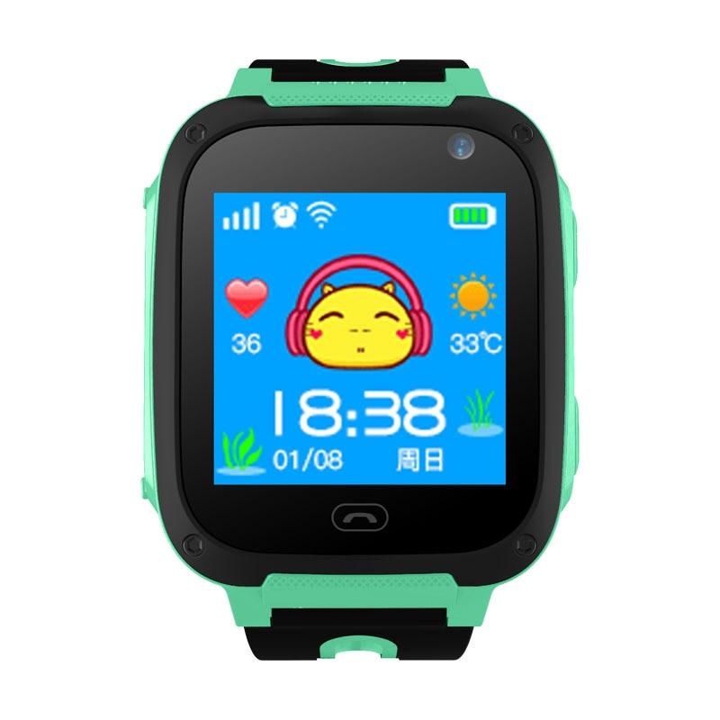 Kinder Smart Armbanduhr Rechteck Horloge Kinderen Intelligente Uhren Für Kinder Rosa Blau Silikon Kinder Uhr Mode Lässig