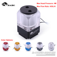 Bykski B TANK DDC MI PWM Water Cooling 10W 450L/H DDC Pump Kits Water Tank Combo Multi Color Options With LED Light