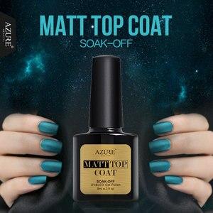 Image 5 - Azure belleza capa superior para base uñas Gel UV tiempo Base duradera base uñas abrigo remojo Base para uñas Semi permanente Led de la capa superior