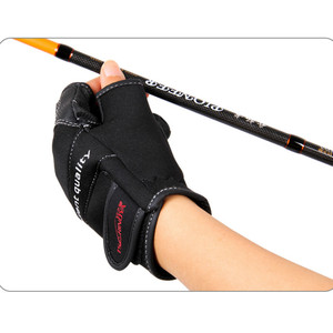 Image 5 - Tsurinoya Winter Angeln Handschuhe Neopren Drei Finger Geschnitten Handschuhe Jagd Camping Anti Slip Gel Outdoor Sport Warme Handschuhe Halten
