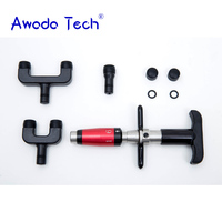 AwadaTech three Heads adjustable intensity Medical Therapy Chiropractic Adjusting American Instrument Correction Gun Activator