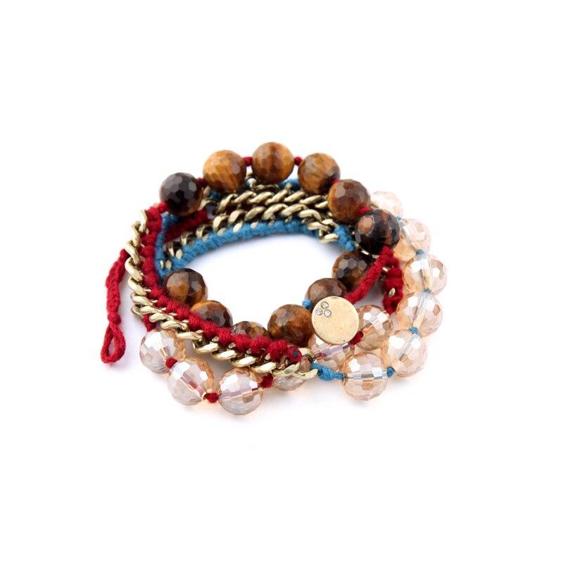 New Arrival Beads Winding Friendship Bracelet Modern Women Tide Fashion Hand Chain Jewelry In Charm Bracelets From Accessories On Aliexpress
