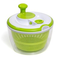 5L Salad Fruit Spinner Mainstay Vegetable Lettuce Salad Washer Spinner Dryer Dehydrator Fast Labor Saving Cleaning Storage Tool
