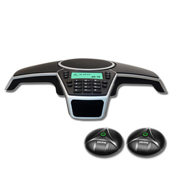 A550PUE Multipoint speakerphone Handsfree PSTN Conference Phone With 2 Expandable Microphones