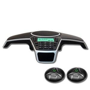 Image 1 - A550PUE Multipoint zestaw głośnomówiący zestaw głośnomówiący publicznej komutowanej sieci telefonicznej telefon konferencyjny z 2 rozbudowy mikrofony