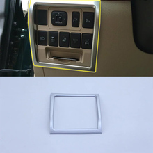 Car Accessories Interior Decoration  ABS Head Lamp Adjustment Buttons Cover Trims For Toyota Land Cruiser 2016 Car Styling car accessories interior decoration abs head lamp adjustment buttons cover trims for toyota land cruiser 2016 car styling