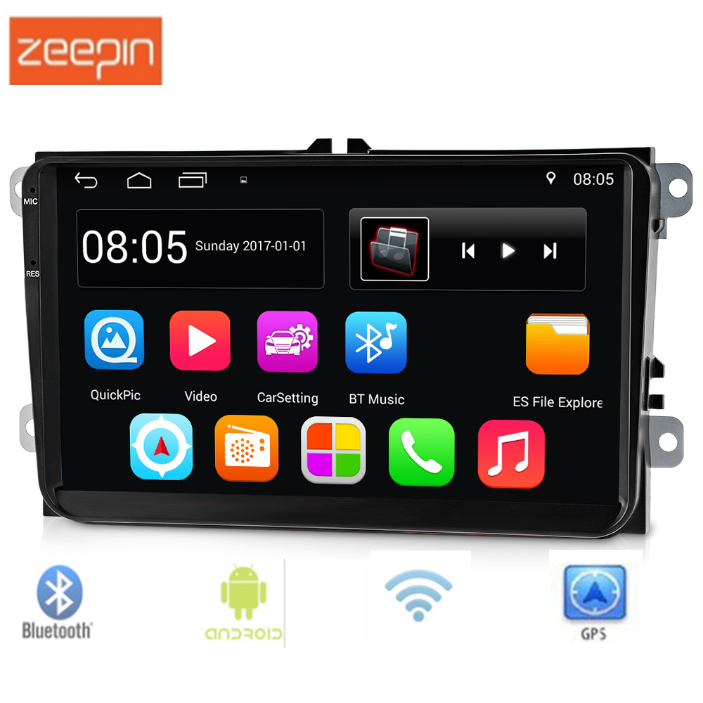 9001 9 inch 2 Din Android 6.0.1 Car Multimedia Player Support FM Radio GPS WiFi Bluetooth Mirror Link Touch Screen DVR for VW amprime 9 car radio gps android 9 wifi fm mirror link 2 din touch screen car multimedia player audio player autoradio for vw