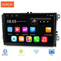 9001 9 inch 2 Din Android 6.0.1 Car Multimedia Player Support FM Radio GPS WiFi Bluetooth Mirror Link Touch Screen DVR for VW