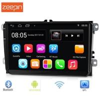 9001 9 дюймов 2 Din Android 6.0.1 Автомобильный мультимедийный плеер Поддержка FM радио gps Wi Fi Bluetooth Зеркало Ссылка сенсорный экран DVR для VW