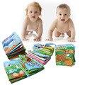 Desenvolvimento da Inteligência infantil Livro de Pano Do Bebê Livros Brinquedos Aprendizagem Educação Atividade Desdobramento Livros Acessórios De Carrinho