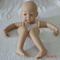 DIY vinyl silicone reborn baby doll kits creative lifelike handmade reborn doll model head limbs accessories adk-72