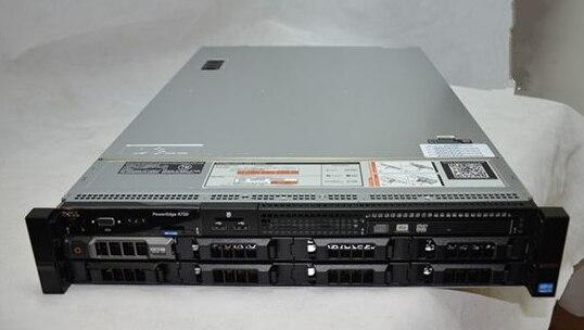 Original R720 2U Server Host Xeon E5 Dual CPU Virtualization ERP Database Used 90%new