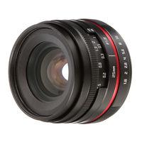 25mm F1.8 Prime Lens Manual Focus MF For Panasonic Olympus MFT M4/3 Mount GH4 GM1 GX8 G7 G9 Camera