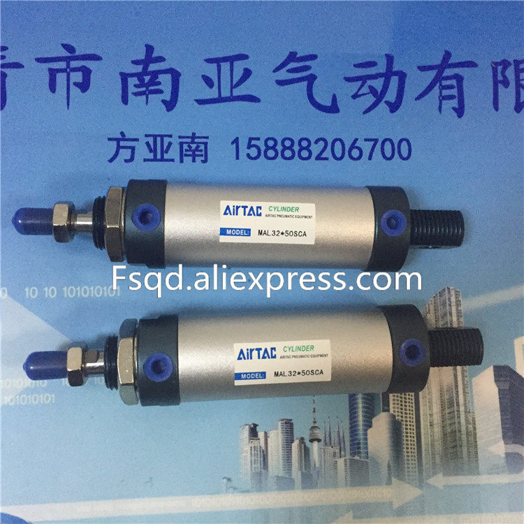 MAL32*125-S-U  MAL32*150-S-U  MAL32*175-S-U MAL32*200-S-U  AIRTAC aluminum alloy mini-cylinder air cylinder MAL series mal32 675 u airtac aluminum alloy mini cylinder air cylinder pneumatic air tools mal series
