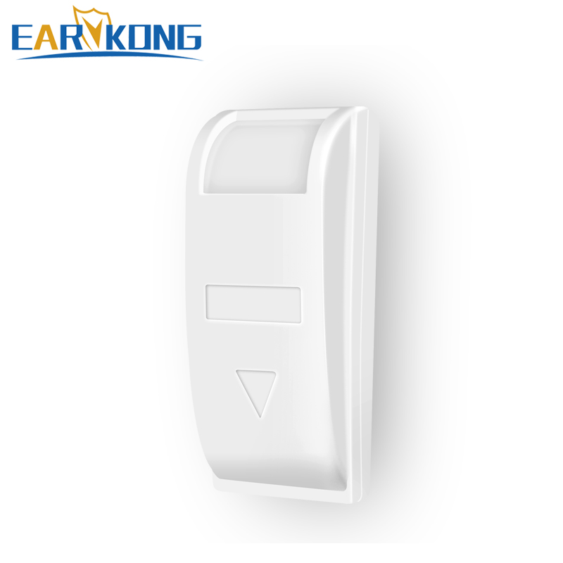 Wired Passive Window Curtain Infrared Detector PIR Motion Sensor Support Temperature Compensation For Home Alarm