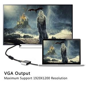 "Image 5 - ""TYPE C כדי HDMI + VGA אפור HDMI ממיר עבור מחברת"
