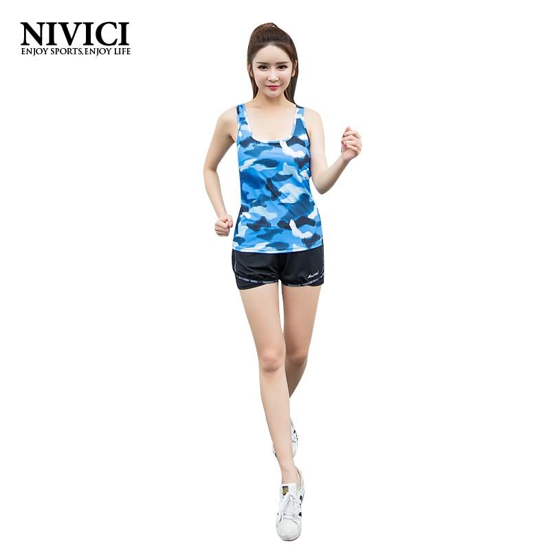 Women Sport font b Yoga b font font b Set b font Sportswear Vest Short Fitness