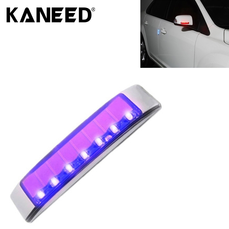 2017   Auto Accessories Car Styling Solar Flash LED Anti-collision Decorative Light