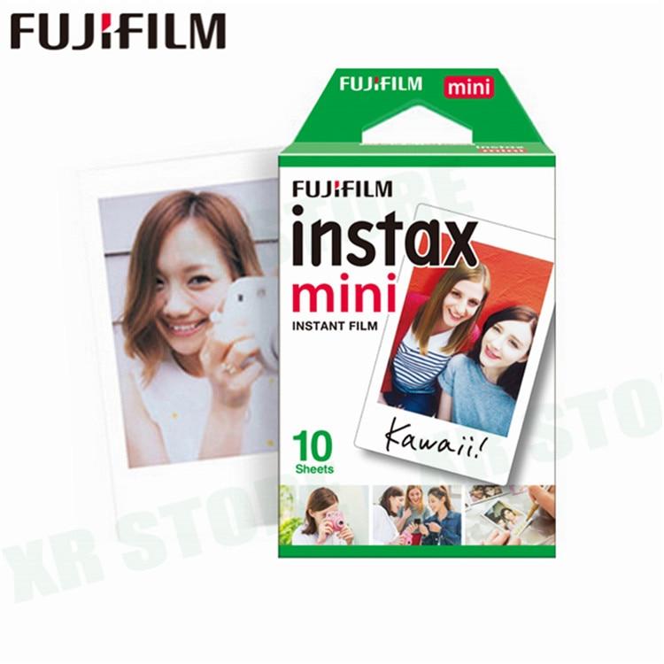 20-100 листов Fuji Fujifilm instax mini 9 8 пленок белые края пленки для мгновенной мини 9 8 7s 25 50s 9 90 камера Sp-2 фотобумага - Цвет: 10 sheets
