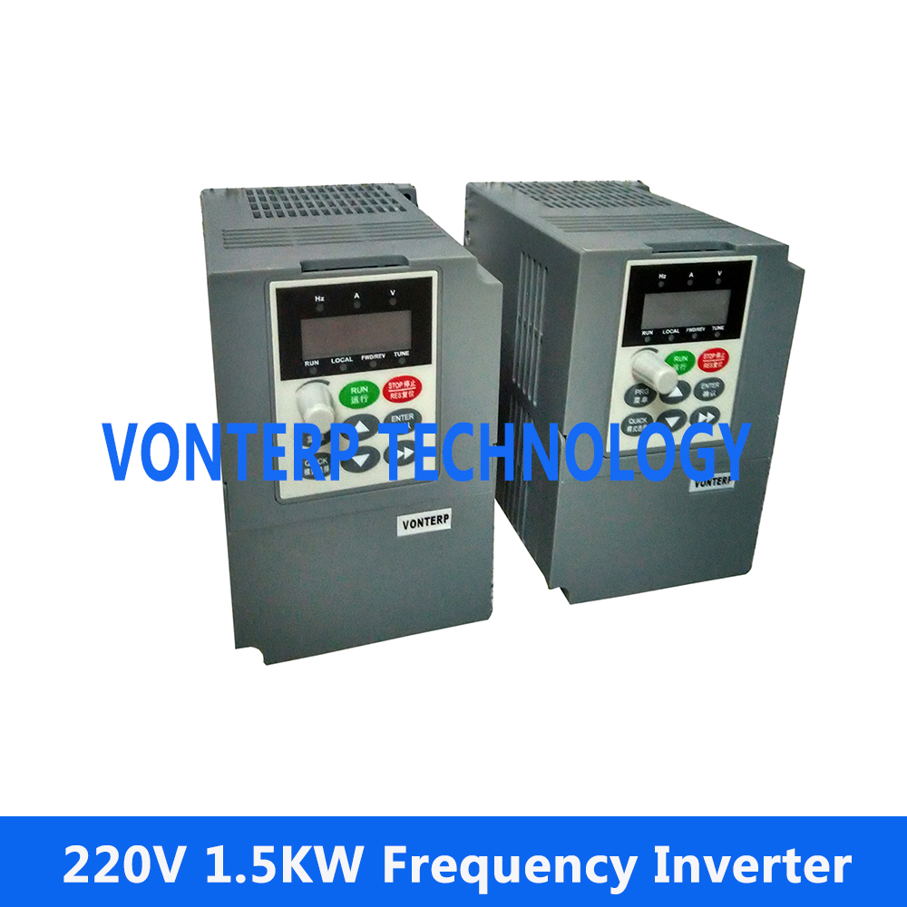 variable speed drive 1.5KW VFD 220V Single phase input and 220v 3 phase output baileigh wl 1840vs heavy duty variable speed wood turning lathe single phase 220v 0 to 3200 rpm inverter driven