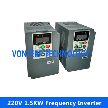 variable speed drive 1.5KW VFD  220V Single phase input and 220v 3 phase output