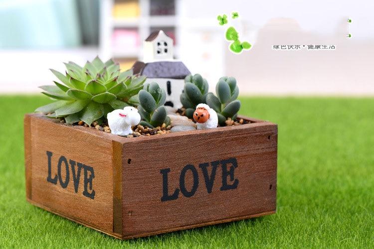 Flower Pots Garden Planters Resin Creative Pots For Succulent Plants DIY Decorative Plant Pot Creative Home Decoration