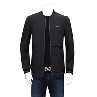 2019 New Plus Size Youth 8xl 7xl 6xl 5xl 4xl New Jacket Men Thin Bomber Jacket Men Wind Breaker Jacket Men Stand Collar