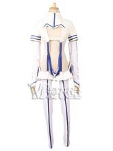 Горячая аниме-убить ла убить сацуки Kiryuin косплей костюм белый синий Frighting форма полный комплект бесплатная доставка