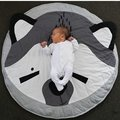95 CM  Baby Blanket Nordic Style Cotton Cartoon Fox Round Shape Stretch Wrap Newborn Photography Baby Room Decorations Blanket