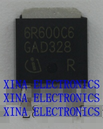 IPD60R600C6 6R600C6 IPD60R600 600V 7.3A TO-252 ROHS ORIGINAL 10PCS/lot  Free Shipping Electronics composition kit