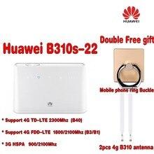 Разблокирована Huawei b310s-22 LTE CPE 3G 4 г 150 Мбит/с Wi-Fi модем маршрутизатор + 2 шт. 4 г Антенна + бесплатная подарок