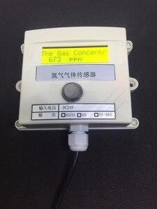 Image 4 - Hydrogen gas Concentration sensor transmitter H2 gas sensor online test 485 232 0 5v switching value 4 20MA plc modbu 0 1000ppm