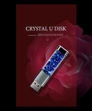 Флеш-накопитель Usb, модные Кристаллы и стразы, карта памяти, 64 ГБ, 32 ГБ, 16 ГБ, 8 ГБ, 4 Гб, флешка 2,0, лучший подарок