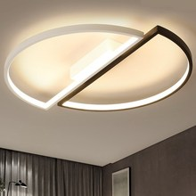 купить Modern LED Ceiling Light Living Room Dining Bedroom Luminarias Led Lights for house lighting fixtures Study Simple Ceiling Lamp по цене 6512.47 рублей