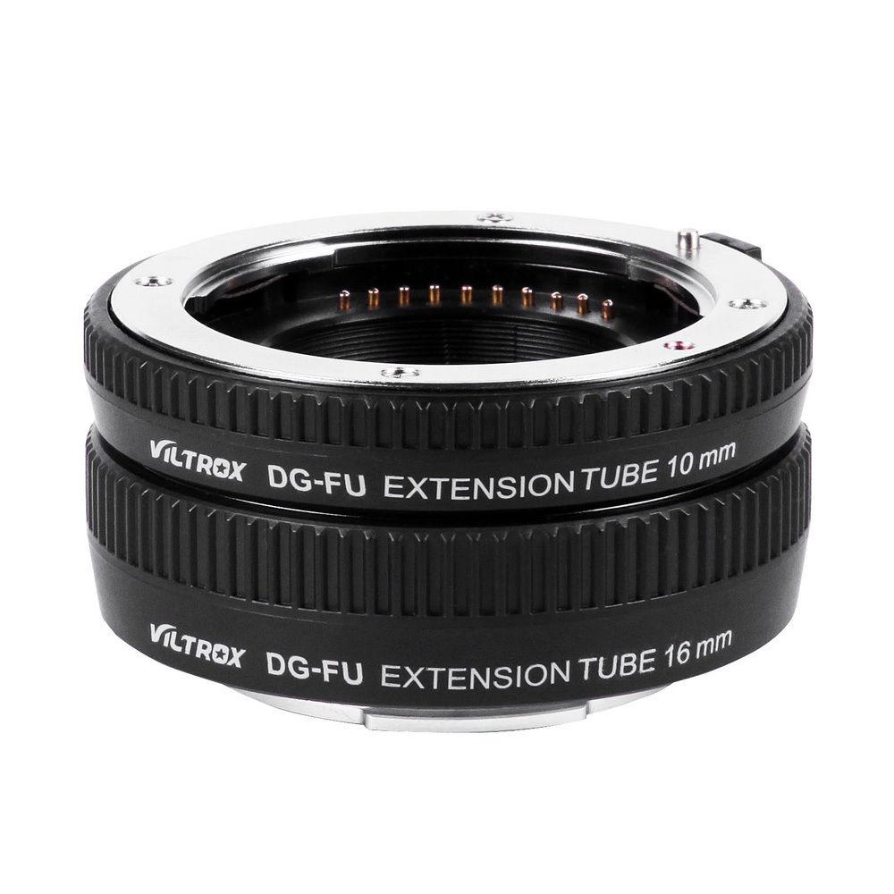 Viltrox DG-FU Auto Focus AF Macro Extension Tube anneau adaptateur d'objectif pour Fujifilm X monture Macro objectif caméra - 2