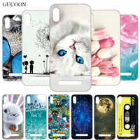GUCOON Cartoon Cover for Doogee Y8C 6.1inch Case Soft Silicone TPU Phone Back Case for Doogee X90 Bumper Shell