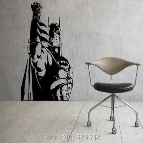 Free Shipping Batman Wall Vinyl Decals Dark Knight Sticker Comics - Batman vinyl decal stickers