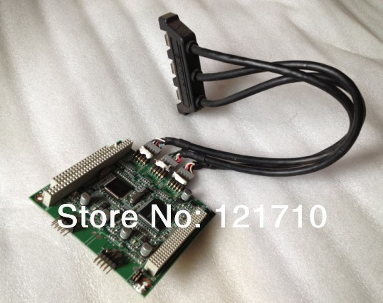 Industrial equipment board MBPC-400 1394 PCM-3620 REV.A1 Converter board industrial equipment board pca 6114p10 b rev b1